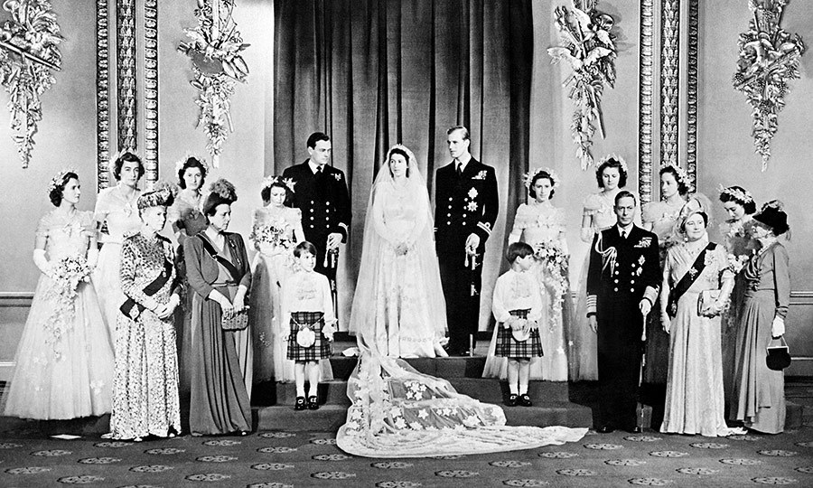 Princess Elizabeth And Prince Philip Became Husband Wife At Londons Westminster Abbey On November 20