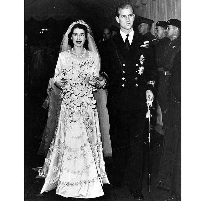 Royal Wedding: Queen Elizabeth II and Prince Philip\'s Westminster ...
