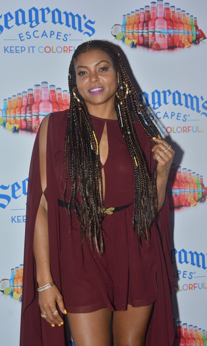 Taraji P. Henson jetted to Jamaica to have some fun in the sun. The <I>Empire</i> actress enjoyed some excursions set up by Seagram's Escapes that included snorkeling, hiking and lounging at the Jewel Dunn's Resort.