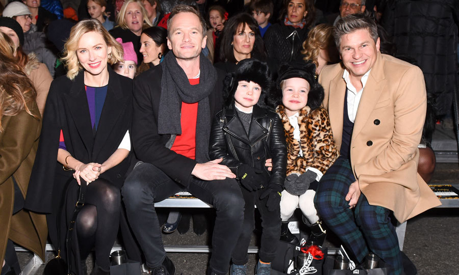 It's the most wonderful time of the year! Naomi Watts, Neil Patrick Harris, Gideon Burtka-Harris, Harper Burtka-Harris and David Burtka were all smiles as they attended the magical Once Upon a Holiday window unveiling at Saks Fifth Avenue New York on November 20.