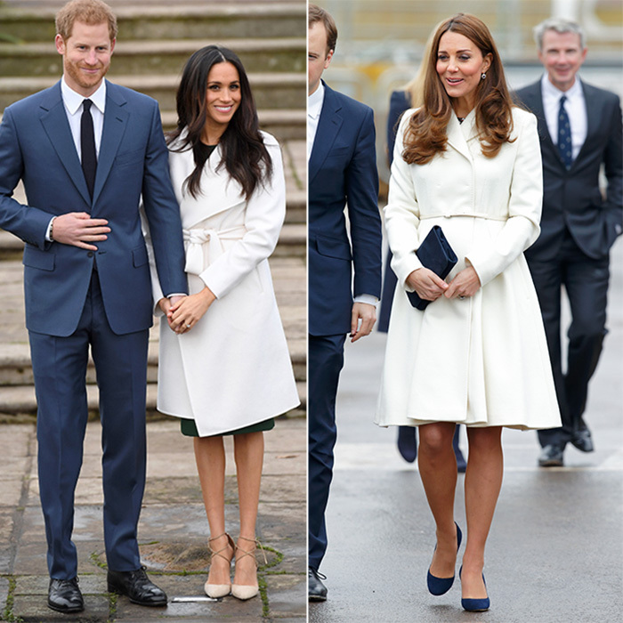 All The Times Kate Middleton And Meghan Markle Dressed