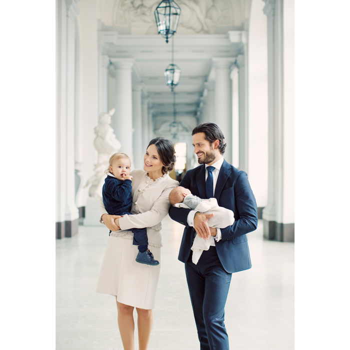 "The Swedish royal family released this new family portrait of Alexander with his brother and parents Carl Philip and Sofia ahead of the Gabriel's christening in November 2017. In an interview after the arrival of their youngest son, the couple opened up about the ""chaos"" of raising two boys. ""We try to create as much family time as possible in the evenings, with bathing and knighting and getting on site routine,"" Sofia said in a new interview with Kupé magazine. ""But ask me again in a few months."" 