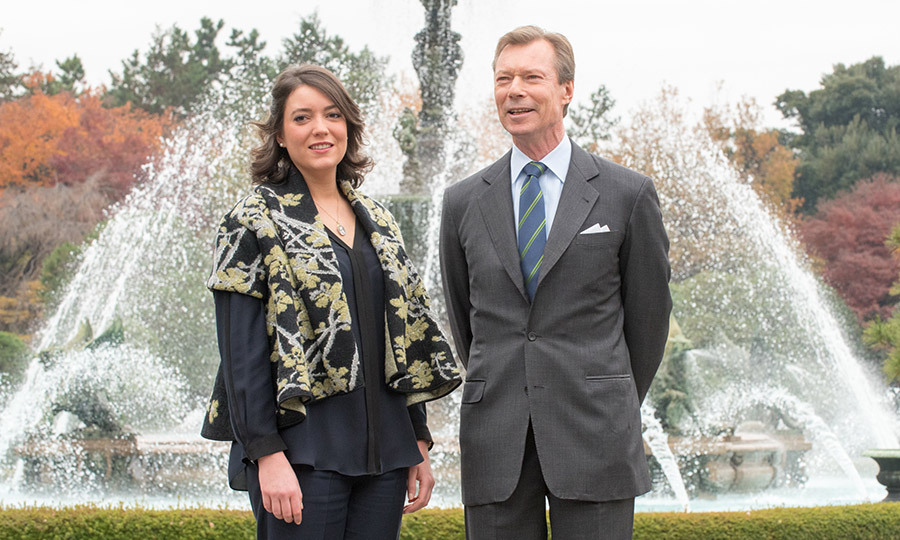The 26-year-old princess stepped into the royal spotlight on the four-day official state visit to Japan since her mother Grand Duchess Maria Teresa has a profound fear of flying and thus was unable to make the trip.