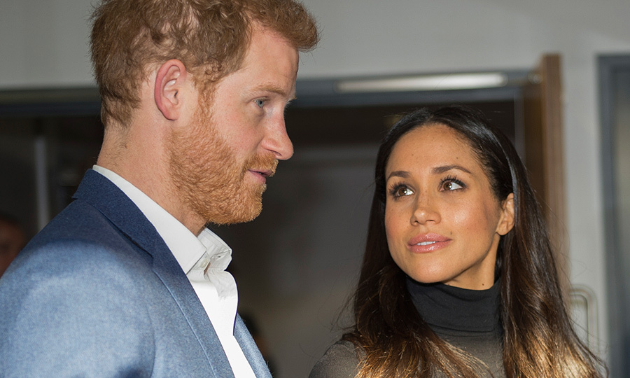 Sometimes a look says it all! In addition to holding hands and taking his arm, Meghan also lovingly gazed up at her future husband during the visit to Nottingham. 