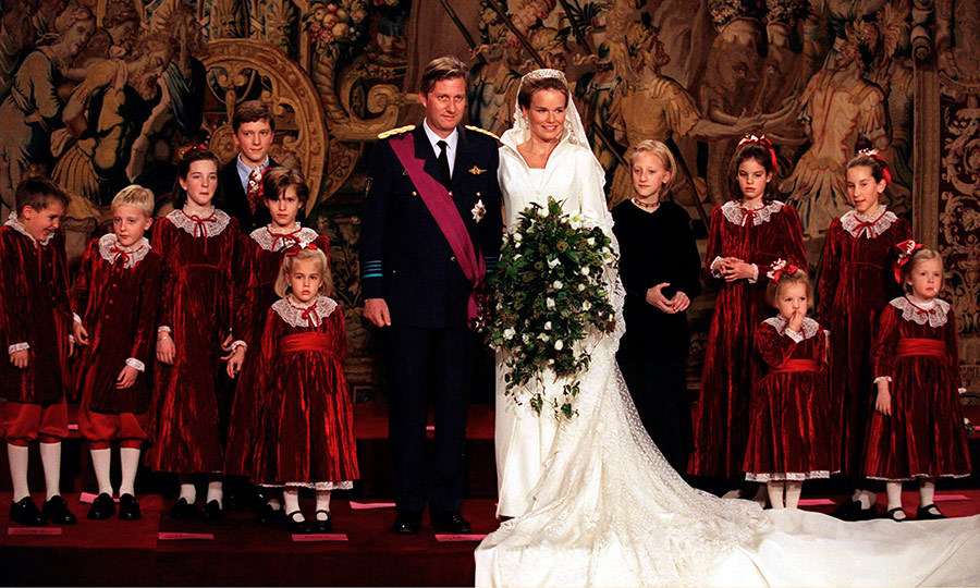 King Philippe And Queen Mathilde Of Belgiums Royal Wedding A Photo Album