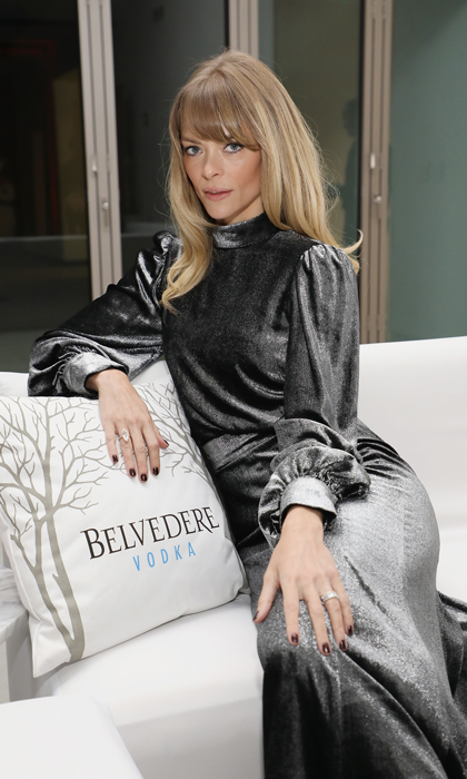 Jaime King helped kick off the Art Basel festivities at the WWD and Belvedere Vodka's Art of Fashion party in Miami's Design District. 
