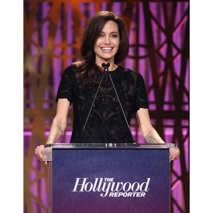 "<a href=""https://us.hellomagazine.com/tags/1/angelina-jolie/""><strong>Angelina Jolie</strong></a> delivered a passionate speech during the Hollywood Reporter's 2017 Women in Entertainment Breakfast on December 6. During the event, held at L.A.'s MILK studios, the <i>First they Killed My Father</i> producer spoke about the need for gender equality on an international level.