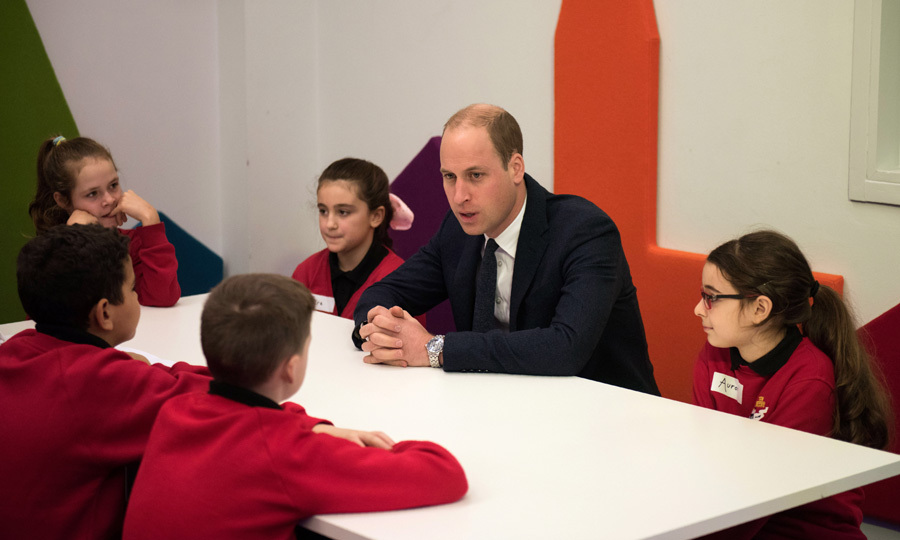 "Prince William had a round table chat with students during the ""Stepping Out"" session at MediaCityUK on December 6. The soon-to-be father-of-three told students during the focus group that his son Prince George recently participated in a holiday performance at his school, Thomas's Battersea. ""I went to my boy's nativity play. It was funny,"" William shared. ""He was a sheep."" 