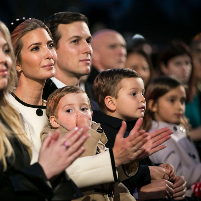 'Tis the season! Ivanka and Jared got into the holiday spirit with their young kids at the 95th annual national Christmas tree lighting ceremony in D.C.