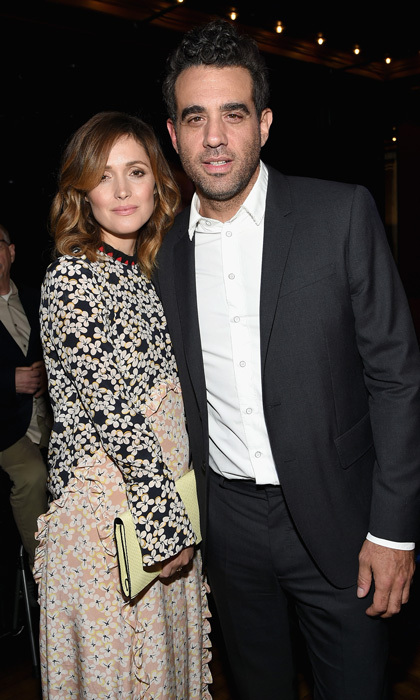 <b>Rose Byrne and Bobby Cannavale</b>