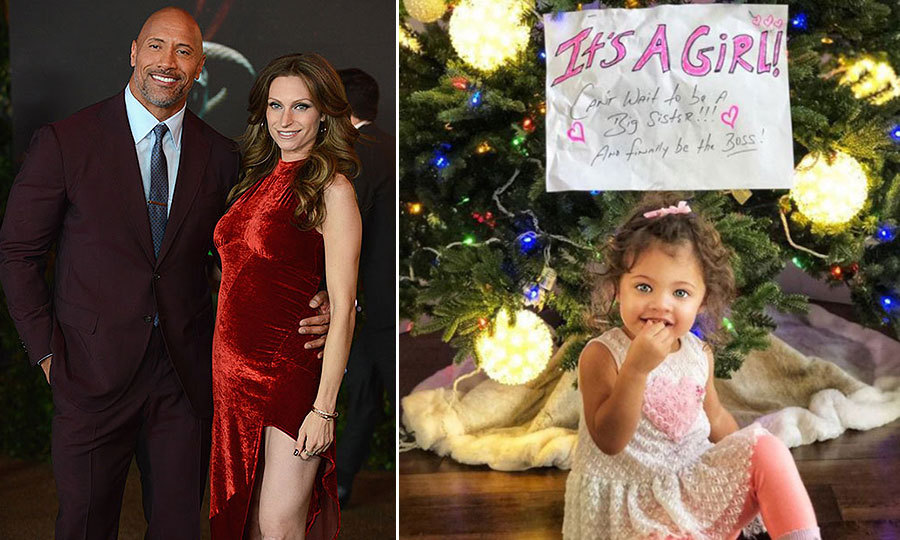 <b>Dwayne 'The Rock' Johnson and Lauren Hashian</b>