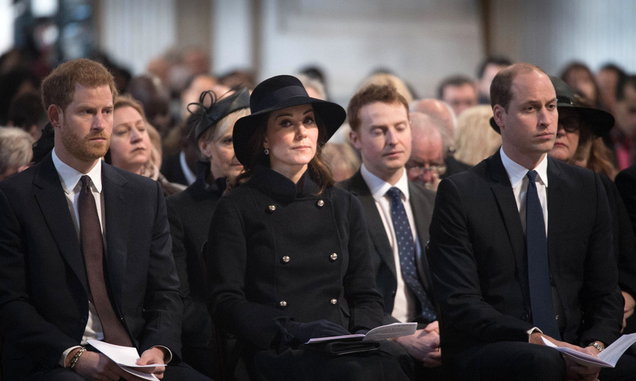 Kate Middleton, Prince William and Prince Harry paid their respects as they attended a memorial service on December 14 for those who died in the Grenfell Tower fire. The royal trio joined Prince Charles and the Duchess of Cornwall at St. Paul's, where they remembered those who lost their lives, and showed solidarity with the bereaved and survivors. The service was also designed to thank everyone who assisted on the ground at the time of the tragedy and since, including emergency services, the recovery team, community response, public support, and volunteers