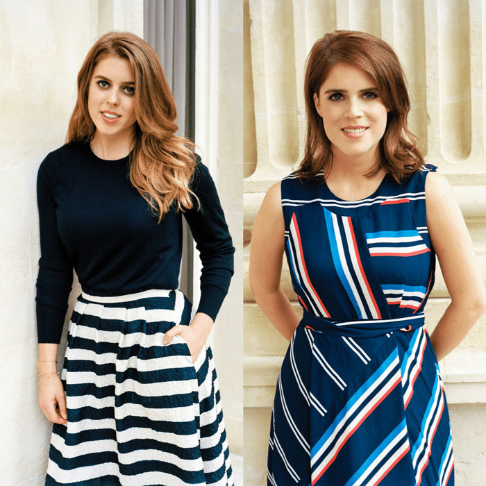 New portraits of Princess Beatrice (left) and Princess Eugenie (right) were published on the official website of Duke of York. Her Majesty's granddaughters looked stylish in the photos that were taken back in 2016 during June celebrations for Queen Elizabeth's 90th birthday.