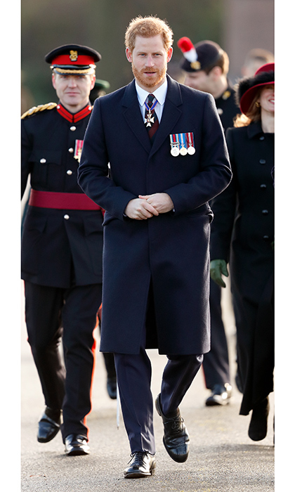 Army veteran Prince Harry returned to his military roots to attend the Sovereign's Parade at the Royal Military Academy Sandhurst on December 15 in Camberley, England. The Prince, who recently announced his plans to wed actress Meghan Markle next year, graduated from the Royal Military Academy in 2006. 