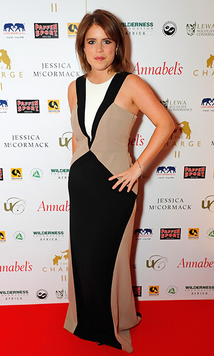 Princess Eugenie showed her knockout style at the Charge II boxing fundraiser at London's Lindley Hall on December 13. The event aimed to raise money for the fight against wildlife poaching.