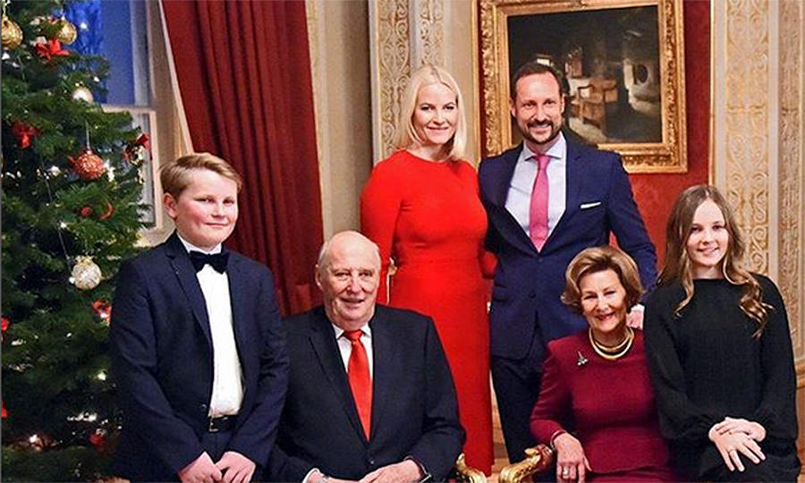 BNorwegian Royals B The Royal Family Posted This Portrait