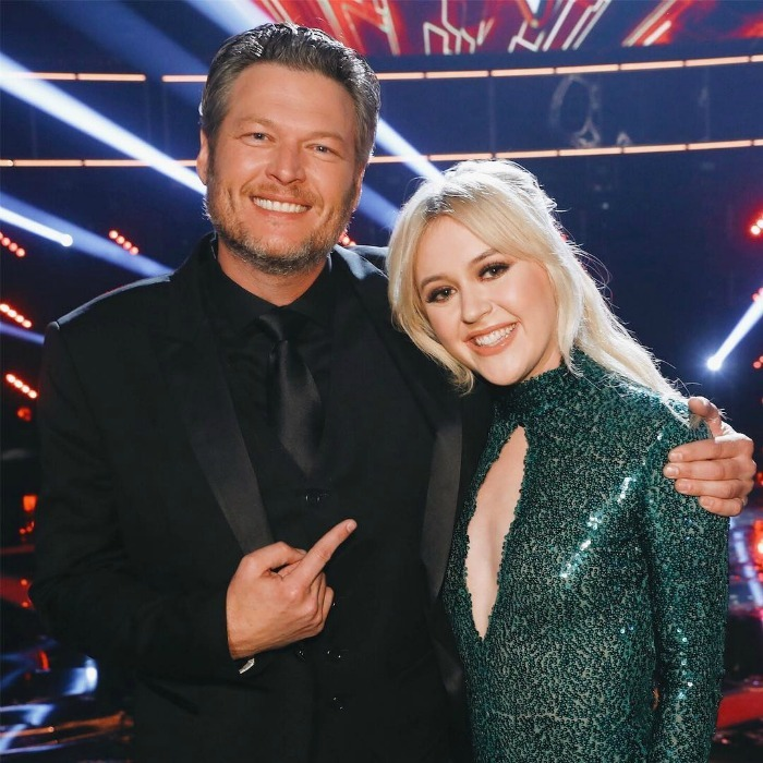 "Blake Shelton was all smiles at the finale of NBC's <i>The Voice</i> on Tuesday, December 19. The singer had a winner on his hands when his team member Chloé Kohanski took home the trophy. ""TeamBlake's got another winner and we couldn't be more proud. "" the show's official account wrote along with this photo of the two.