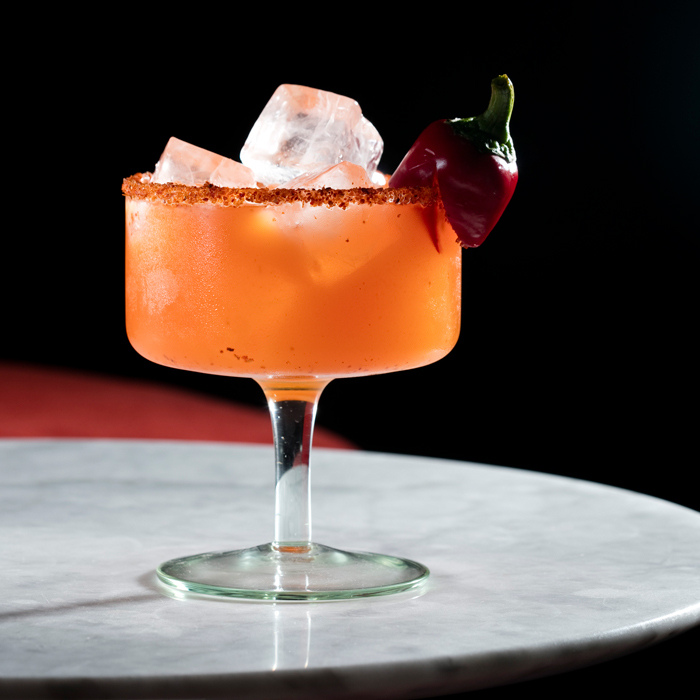 <b>Mailroom's Fired Up Margarita</b>