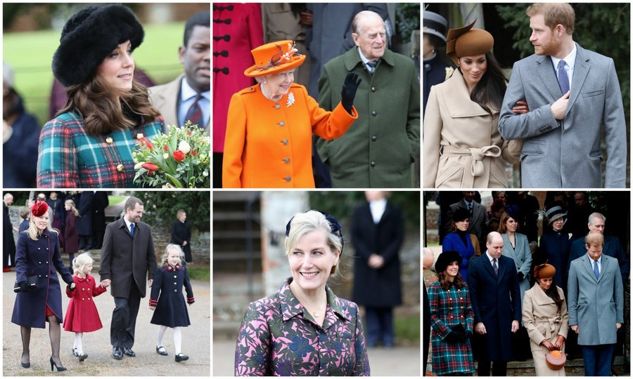 Meghan Markle joins Kate Middleton and the royal family for ...