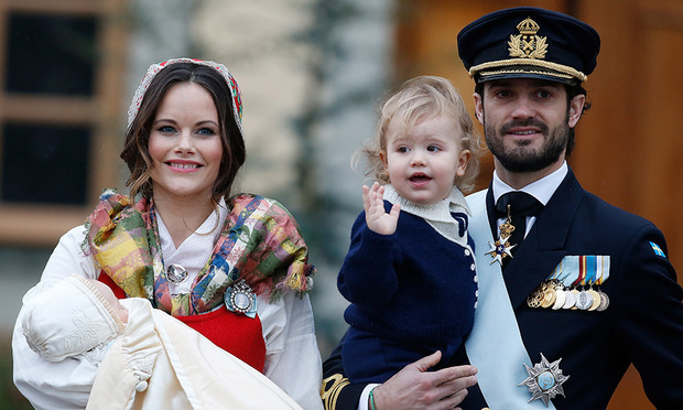 <B>Prince Carl Philip and Princess Sofia of Sweden</B> 