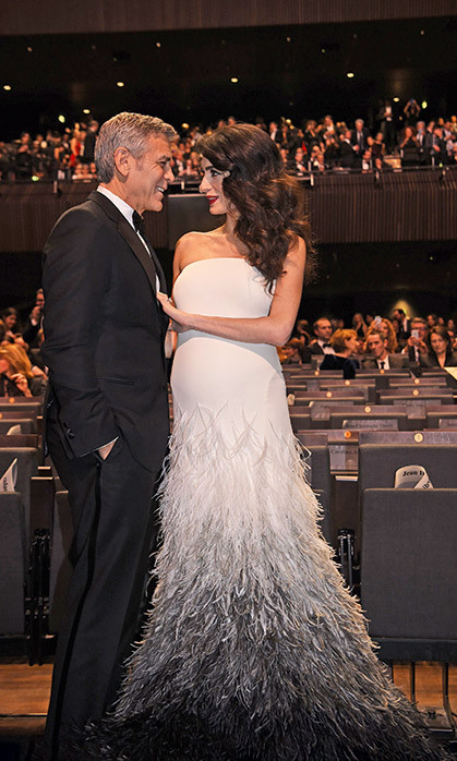 THE CLOONEY FAMILY GROWS