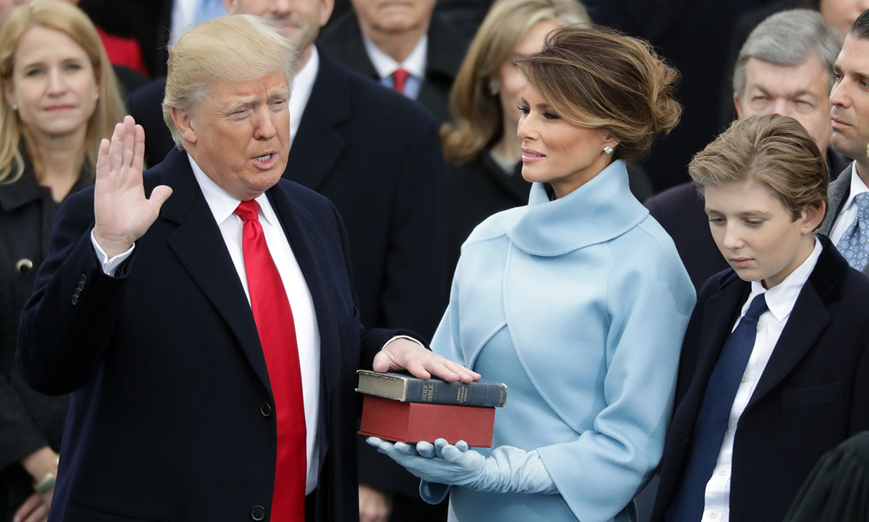 A NEW LEADER