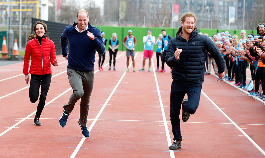 ON YOUR MARK, GET SET, GO!