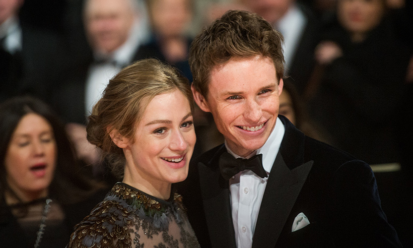 <b>Eddie Redmayne and Hannah Bagshawe</b>