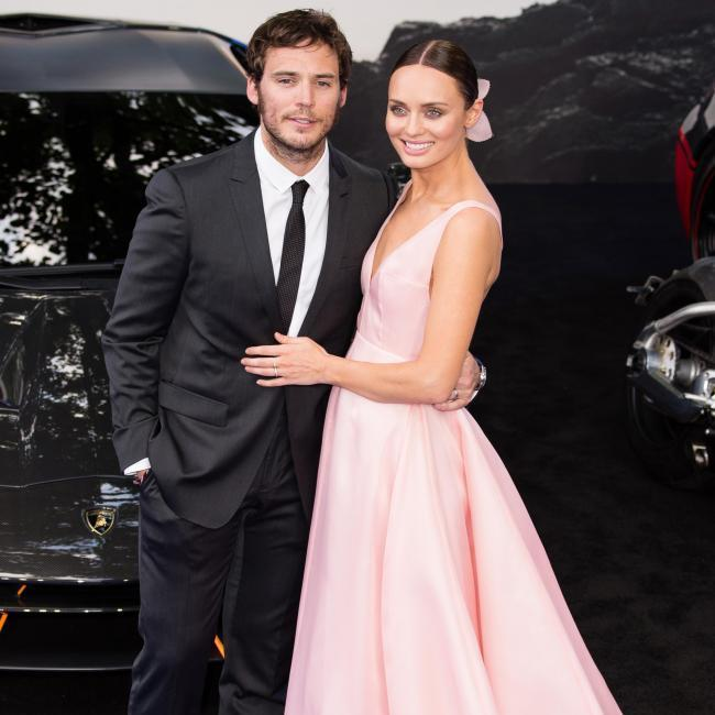 <b>Sam Claflin and Laura Haddock</b>