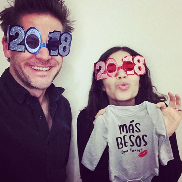 <b>America Ferrera and Ryan Piers Williams</b>