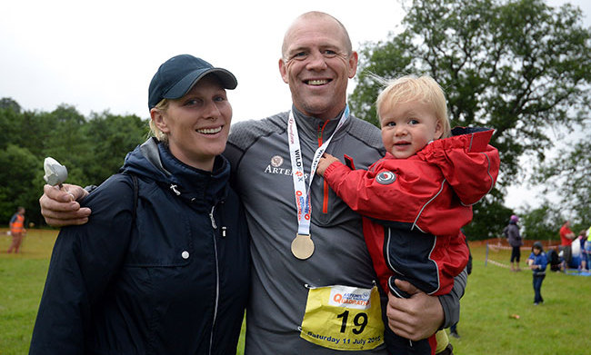<b>Zara and Mike Tindall</b>