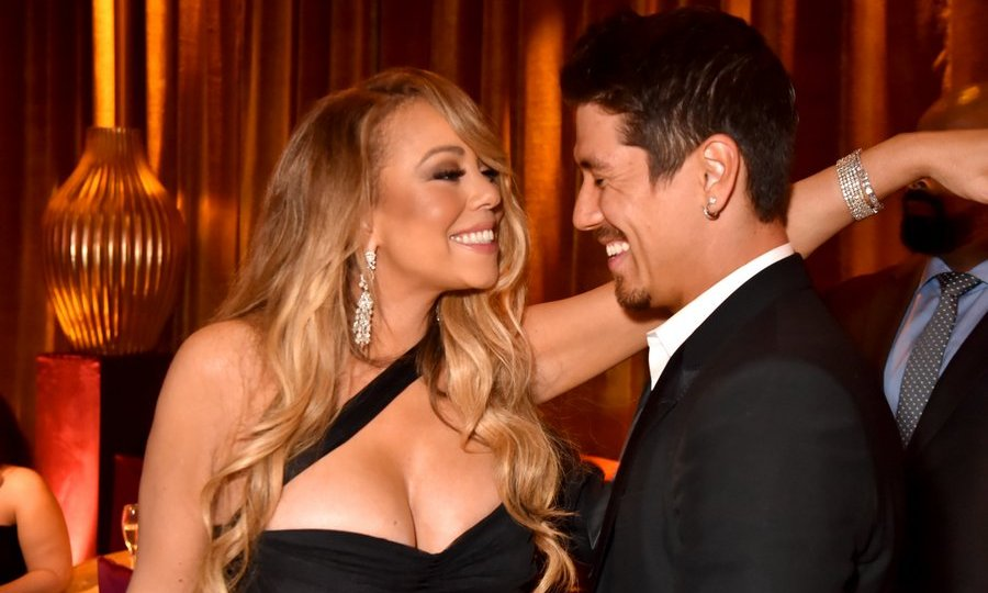 Mariah Carey and boyfriend Bryan Tanaka were spotted dancing at the star-studded gathering.