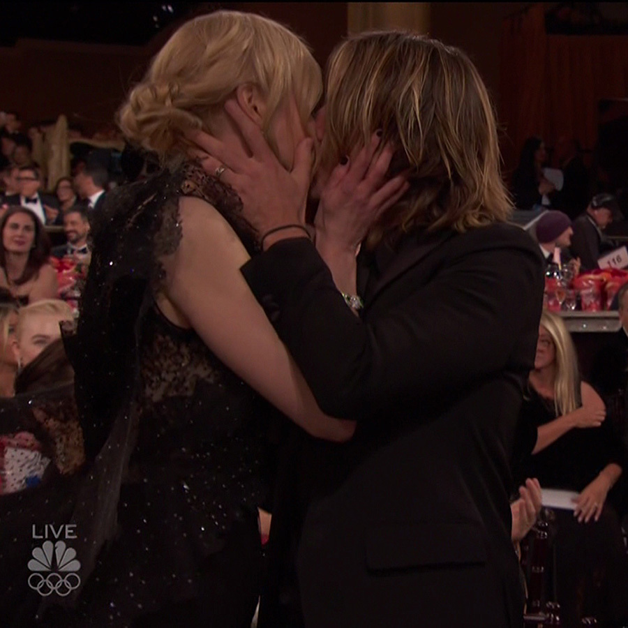 <b>When it comes to relationship goals, Nicole Kidman and Keith Urban have set the bar high. From red carpet PDA to those famous looks of love, the Hollywood pair have proven time and time again that they only have eyes for each other. We suspect they may be the most romantic red carpet couple in Hollywood – scroll through for the proof!</B>
