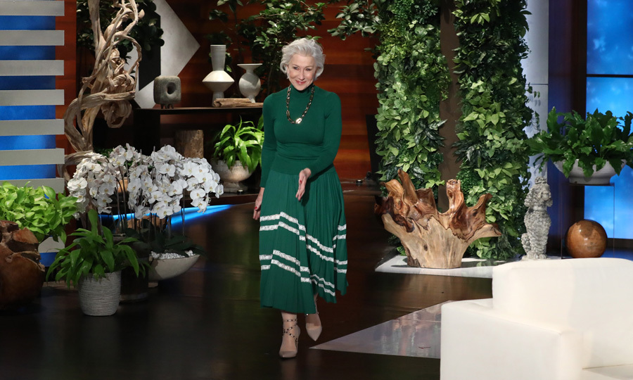 "Dame <a href=""https://us.hellomagazine.com/tags/1/helen-mirren/""><strong>Helen Mirren</strong></a>  dropped by <i>The Ellen DeGeneres Show</i> to discuss her upcoming film <i>The Leisure Seeker</i>. Helen, who is no stranger to playing <a href=""https://us.hellomagazine.com/tags/1/queen-elizabeth/""><strong>Queen Elizabeth</strong></a>, admitted she probably won't be invited to the royal wedding of <b>Prince Harry</b> and <b>Meghan Markle</b>. Though the actress did share how she has met both him and his brother <a href=""https://us.hellomagazine.com/tags/1/prince-william/""><strong>Prince William</strong></a> as well as the Queen. 