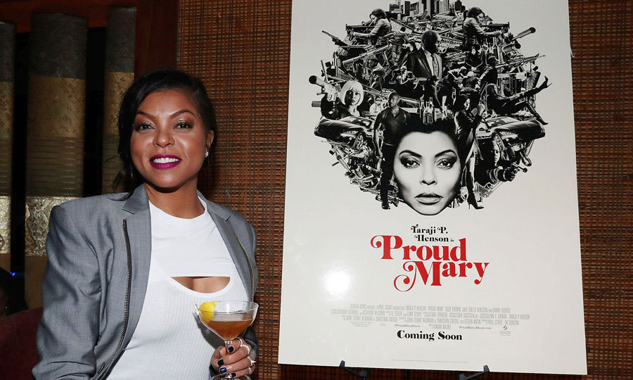 Taraji P. Henson kept the drinks rollin' during the Hennessy VSOP Privilege's dinner in celebration of her upcoming film <i>Proud Mary</i> at Zuma on January 8 in NYC. 