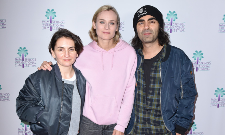 Fresh from her Golden Globes win, Diane Kruger was joined by Nurhan Sekerci-Porst and Fatih Akin during a screening of <i>In The Fade</i> at the 29th annual Palm Springs International Film Festival on January 8.