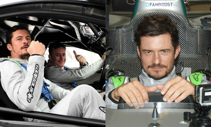 Meanwhile, birthday boy Orlando Bloom looked to be having the time of his life at the sporting event. The Pirates of the Caribbean star, who celebrated turning 41 at the Morocco race, couldn't wait to get behind the wheel himself! He hopped into a Formula E racing car to give it a go.