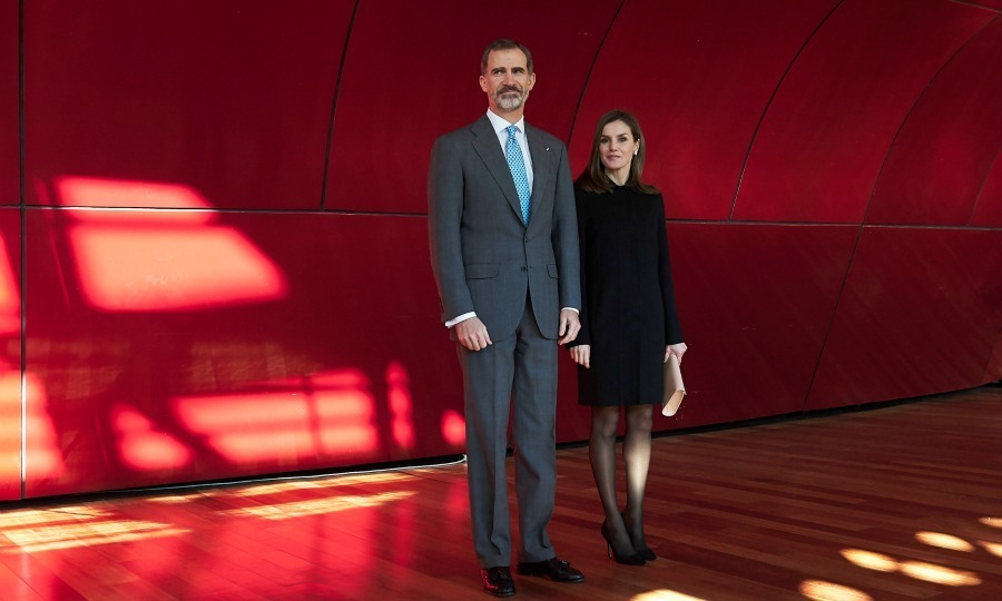Five months after the horrific terrorist attacks in Barcelona, Spanish royalty Queen Letizia and King Felipe VI stepped out to honor victims of the heartbreaking incident for their bravery. The couple attended the Victims of Terrorism Foundation Awards at the Reina Sofia Museum in Madrid on January 15. 