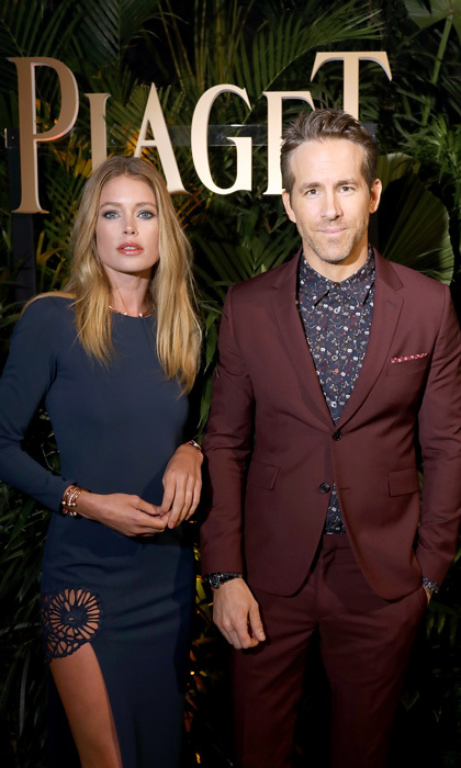 Doutzen Kroes and Ryan Reynolds traveled to Geneva, Switzerland to preview Piaget's latest at the #SIHH2018.
