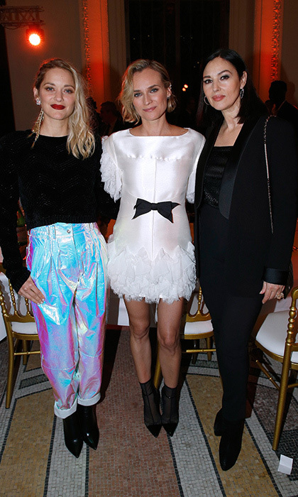 Marion Cotillard, Diane Kruger and Monica Bellucci looked fierce as ever while attending the 'Cesar - Revelations 2018' Party at Le Petit Palais on January 15 in Paris.