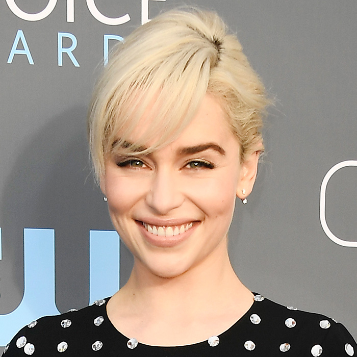 <B>BOLD, BRUSHED-UP BROWS... like Emilia Clarke</B>