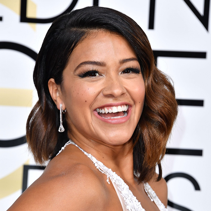 <b>LONG, LUSH LASHES... like Gina Rodriguez</B>