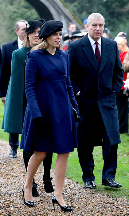 Eugenie attended the church service with elder sister Princess Beatrice and dad Prince Andrew, who was among those who sent his congratulations to his daughter on Twitter when the wedding was announced.