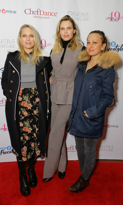 Sundance is all about the films, but this year it was also about these 49 Remarkable Women + One Really Cool Dude. Sara, Erin Foster and Jennifer Meyer were among the honorees at the Creative Playground and ChefDance dinner.