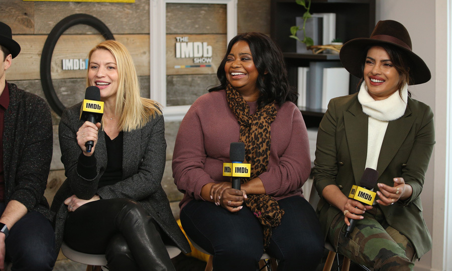 Claire Danes, Octavia Spencer and Priyanka Chopra chatted about their film <i>A Kid Like Jake</i> at the The IMDb Studio.