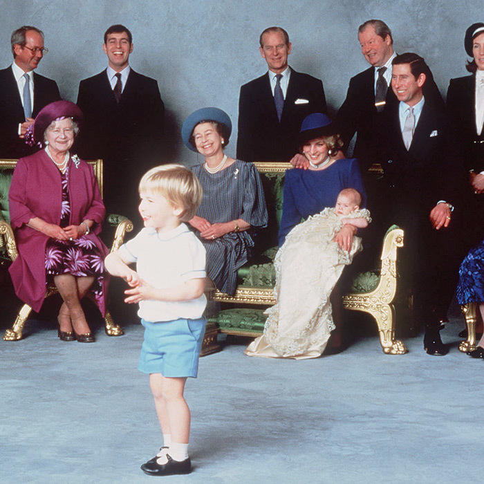 <b>PRINCE HARRY'S CHRISTENING</B>