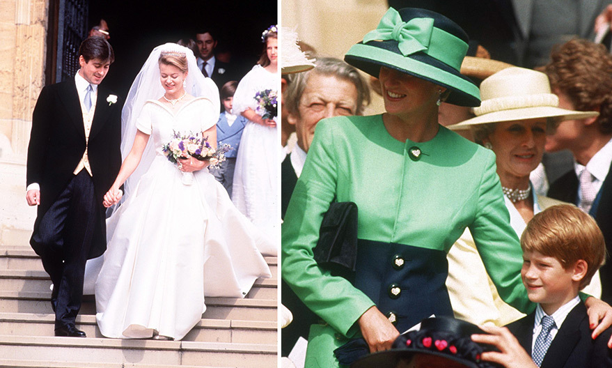 <B>LADY HELEN WINDSOR AND TIMOTHY TAYLOR'S WEDDING </B>