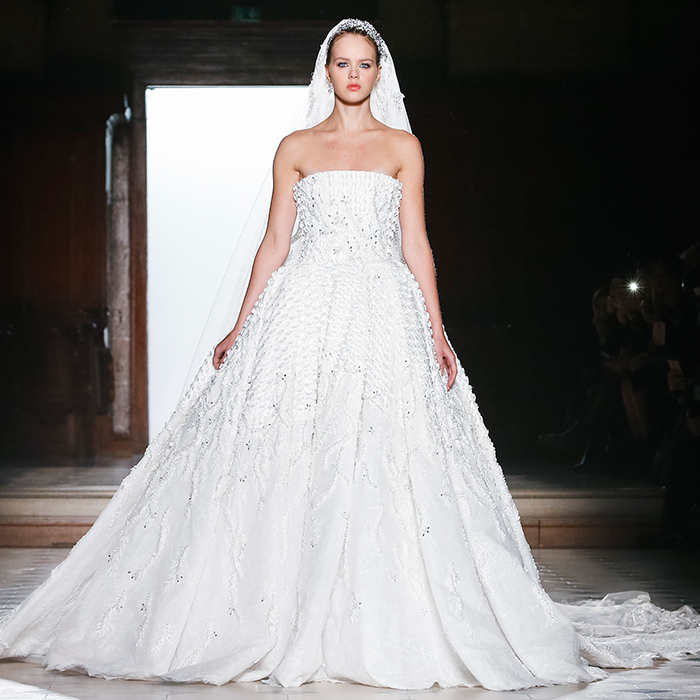 Wedding dresses from Paris Haute Couture: Designer bridal gowns from ...