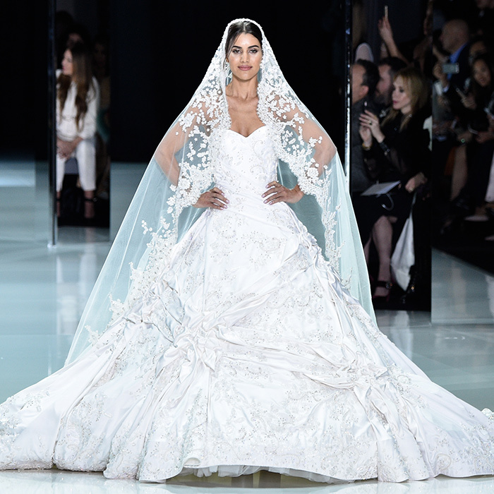 10 Dream Wedding Dresses From Paris Haute Couture Including Meghan Markle Favorite Ralph Russo