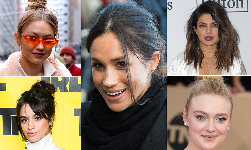 Meghan Markle S Messy Bun And More Effortless Celebrity
